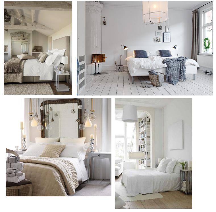 White chic white decor drummond house plans blog for Decorer chambre a coucher