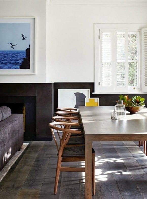 Modern rustic in the dining room drummond house plans blog - Suspension pour salle a manger ...