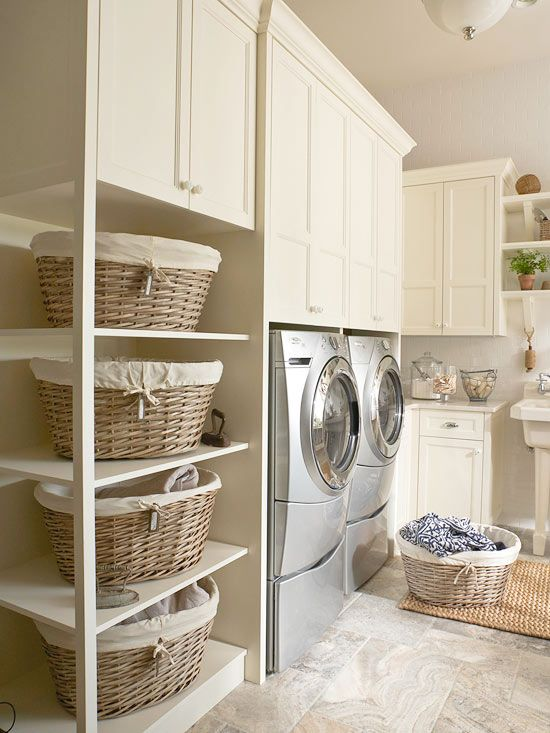 Practical ideas for the laundry room