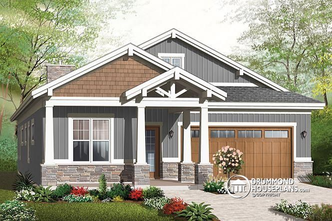 Environmentally Superior – Craftsman Bungalow Home Plan