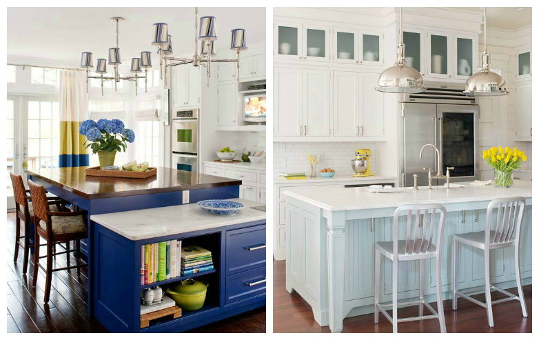 rustic style for the kitchen drummond house plans blog On armoire de cuisine bleu antique