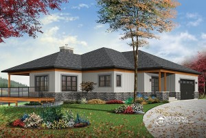 Cottage house plan 3967 by Drummond House Plans