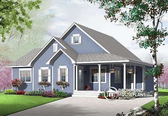 """Plan of the Week: """"Flexible Country Cottage"""""""