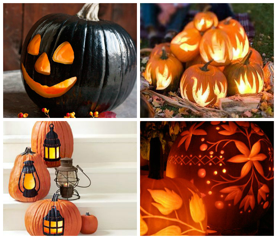 Decoration ideas for halloween - Deco citrouille pour halloween ...