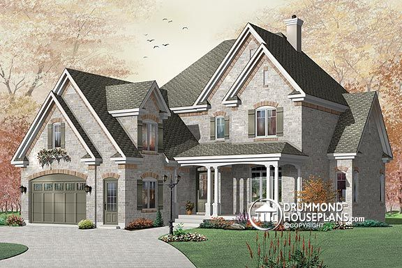"House Plan of the Week – ""Majestic Cottage With Depth"""