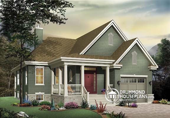"Plan of the Week – ""Bungalow With Inviting Front Porch"""