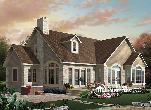 "House Plan of the Week: ""Country Cottage With Panoramic Views Guaranteed!"""