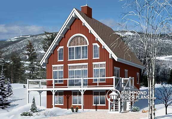 "Plan of the Week – ""Chalet for four-season fun!"""