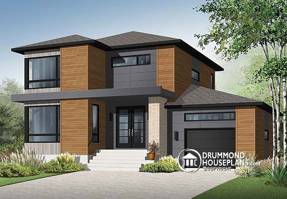 """Plan of the Week – """"Commanding Contemporary"""""""
