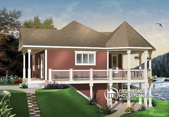 "House Plan of the Week: ""Chalet-Style House for ""Boomers"""