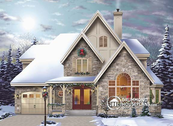 """House Plan of the Week: """"Country Cottage With a European Flair"""""""
