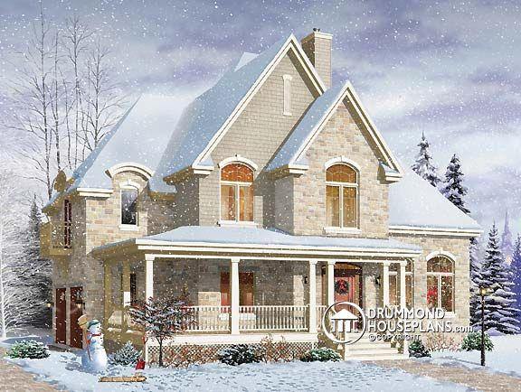 "House Plan of the Week – ""Picture Perfect Country Manor"""
