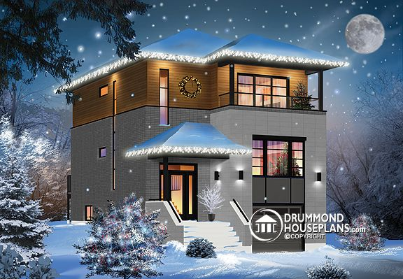 "Plan of the Week: ""Modern Holidays Home!"""
