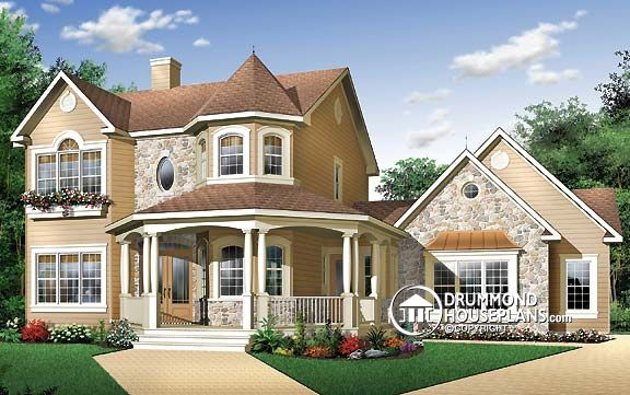 """Plan of the Week: """"A Country Cottage with an American Spirit"""""""