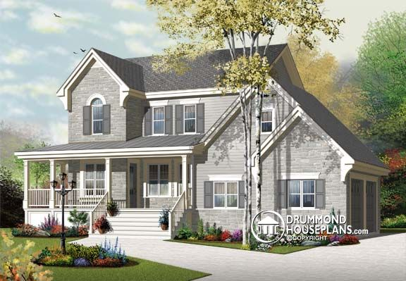 "House Plan of the Week: ""Coastal Cottage Inspiration With Discreet Garage"""