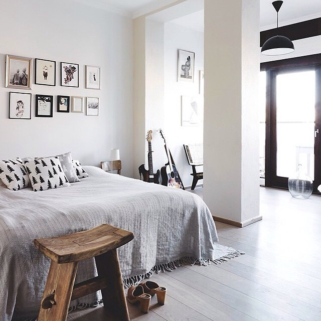 White bedroom to love ! Yes or no ?