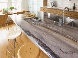 Kitchen Counters: Plastic Laminate Offers Options A-Plenty