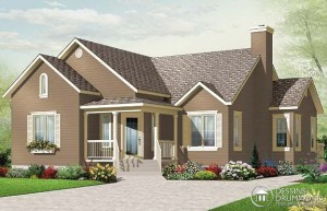 Drummond House Plan of the week: Affordable 3-Bedroom Bungalow!