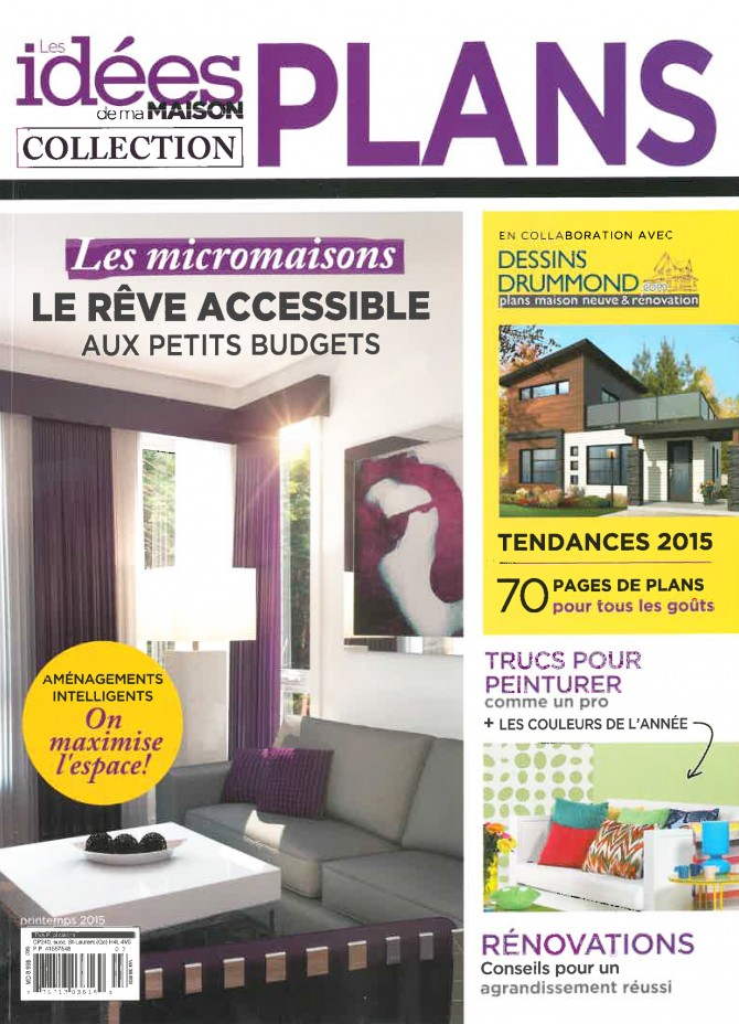 Ides De Ma Maison  Collection Plans De Dessins Drummond