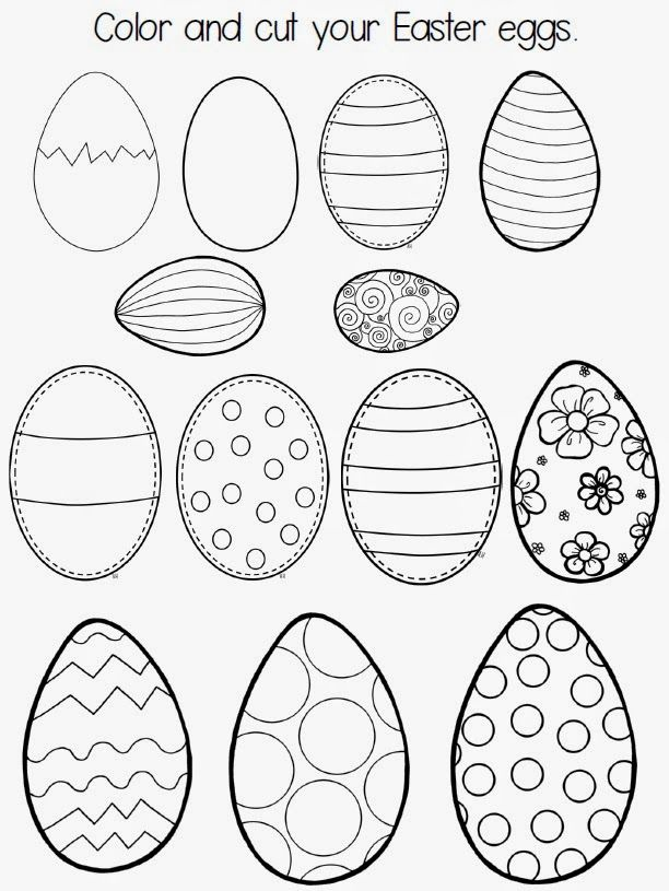 Patterns for Easter 2015 eggs