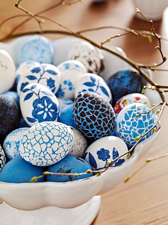 Blue eggs for Easter 2015 - Drummond House Plans' Blog