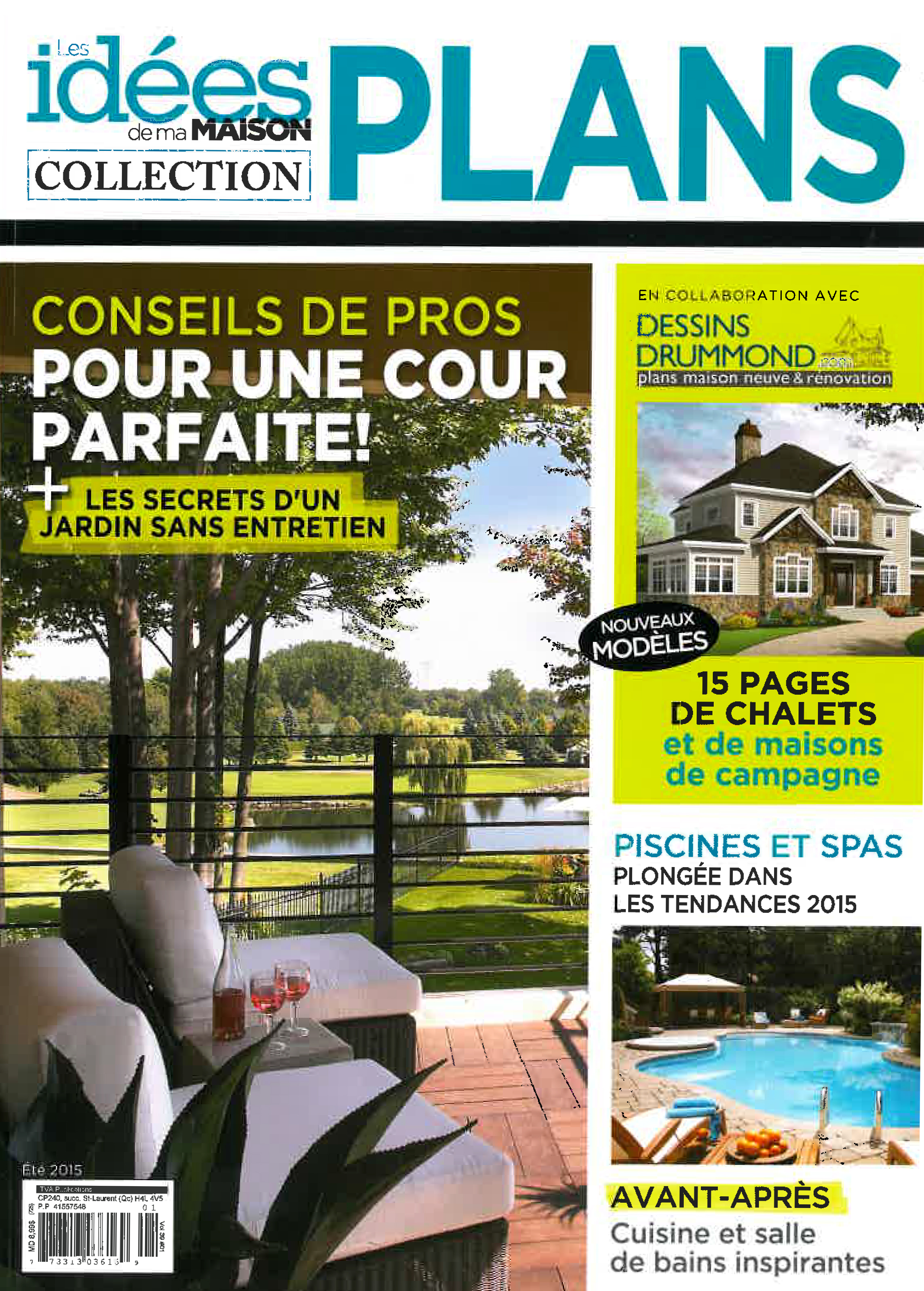 Id es de ma maison collection plan maison dessin drummond for Plans de dessins de porche