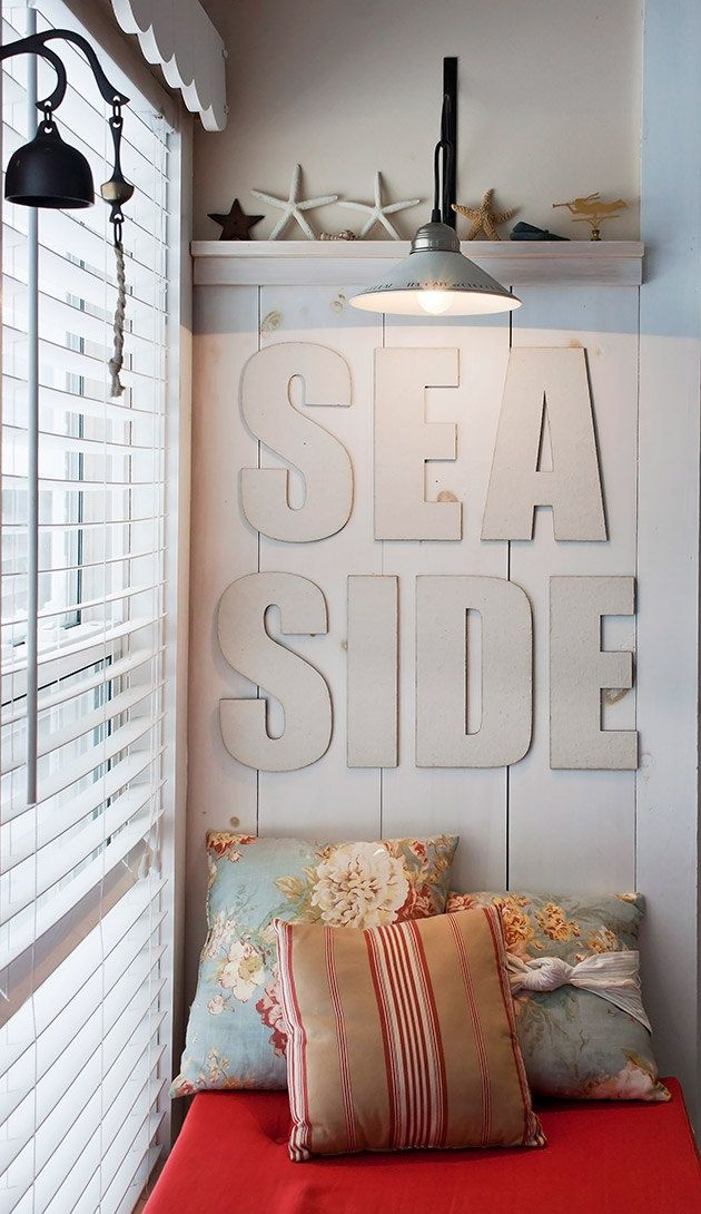 Nautical inspired home decor !