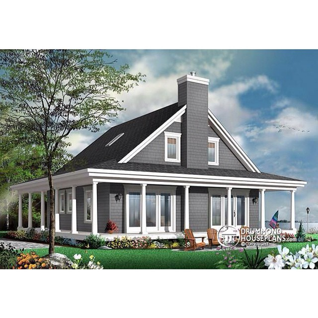 Drummond house plan of the week affordable 3 bedroom for Affordable bungalow house plans