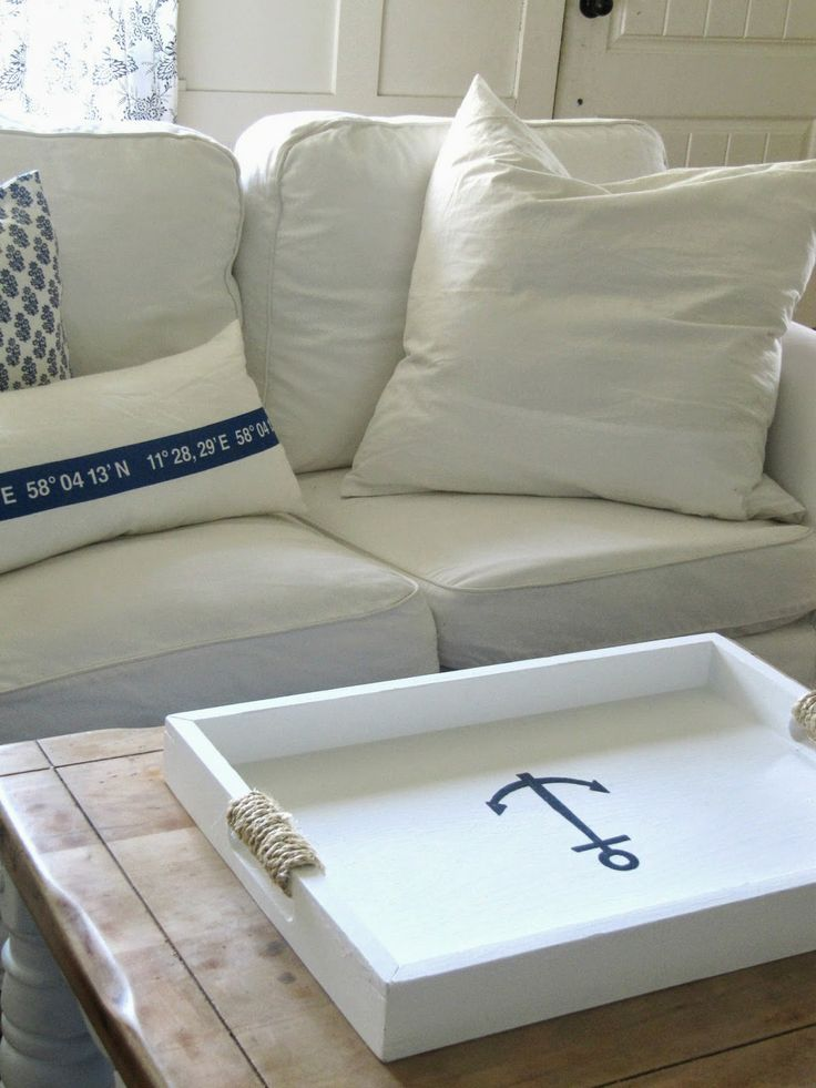DIY projects : nautical inspired home decor !
