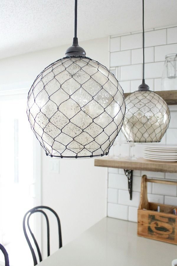 Nautical inspired lighting and home decor !