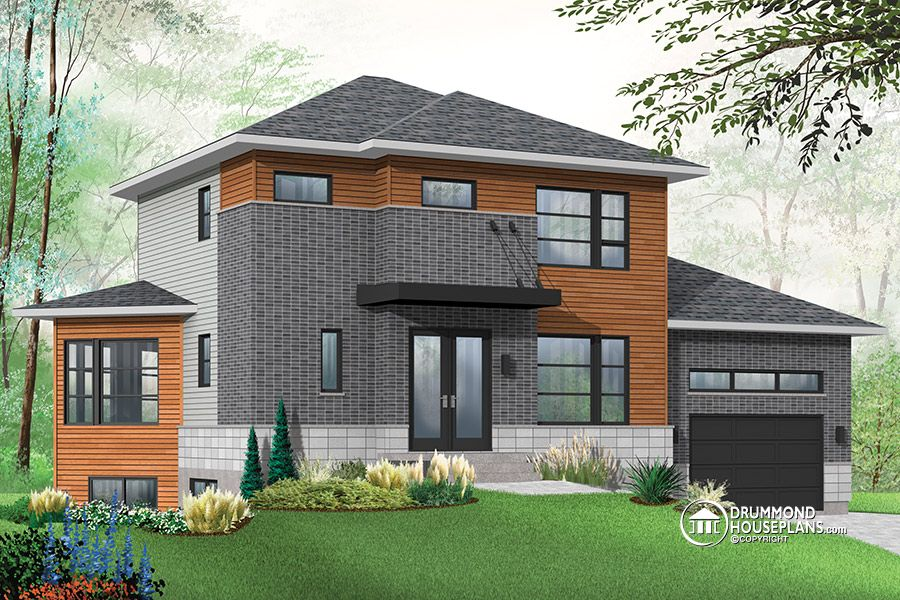 Beautiful Canadian House Plans With Basements #8: House Plans With Basement Apartment