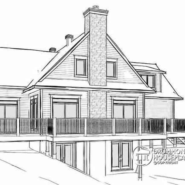 PLAN W3914-V4 -  4 bedroom lakefront cottage including 2 master suites, double garage, open floor plan concept #luxuryhome #design #homedesign #housedesign #houseplans #homeplans #architecture #luxuryhomestyle #aframecottage #luxuryhouse #house #houses #home #homes #homestyle #luxuryhouses #luxuryhomes #luxuryhomeplan #countryhouse #luxurycottage #countrystyle #dreamhome #dreamhouse #modernrustic