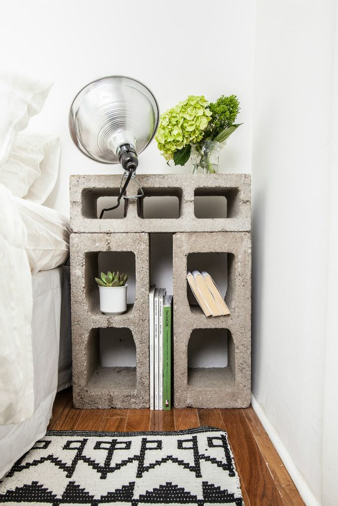 concret DIY furniture projects
