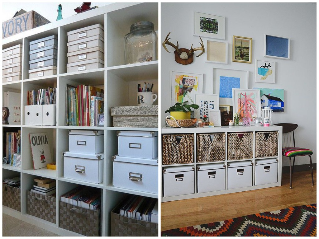 Recycled boxe DIY small storage ideas