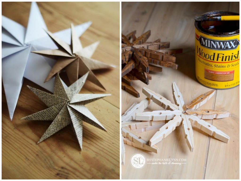 Diy christmas decoration 51 ideas to do yourself - Decorations de noel a fabriquer ...