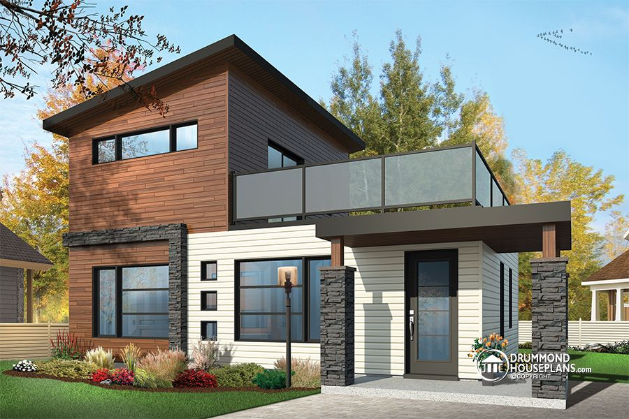 Beautiful & affordable Modern house plan collection Drummond