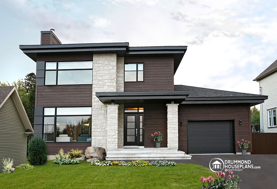 Beautiful & affordable Modern house plan collection - Drummond House ...